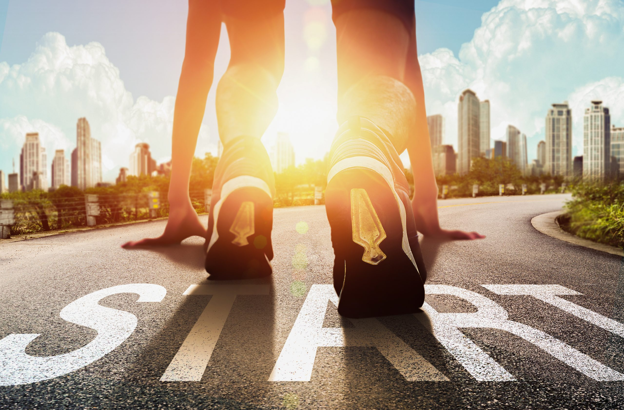Start motivation au travail départ