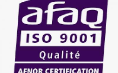 Certification qualité Afnor*
